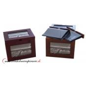Darčekový drevený box s fotoalbumami