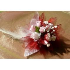 Kvetinový náramok N007 - BORDOV