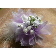 Kvetinový náramok N010 - LEVANDUĽOV