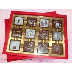 Čokoládová bonboniérka I LOVE YOU