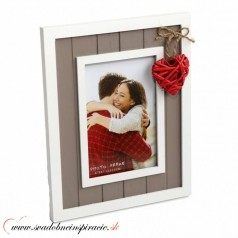 "Fotorámik ""VINTAGE HEART"" (10x15 cm)"