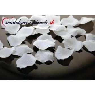 Lupene ruží - biele (500 ks)