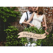 "Tabuľky ""HAPPY COUPLE & WEDDING"" (2 ks)"