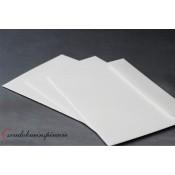 Obálky perleťové - BIELE (5 ks)
