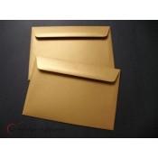 Obálky perleťové - ZLATÉ (5 ks)