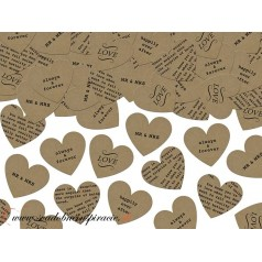 Confetti - Srdiečka NATURAL (3 g)
