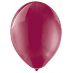 """Balóny """"Crystal"""" - BORDOVÉ (25 ks)"""