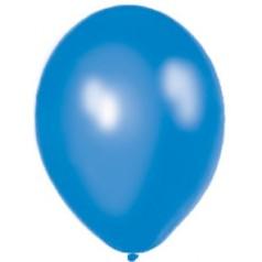 Balóny perleťové - MODRÉ (25 ks)
