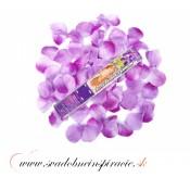 Vystreľovacie confetti - Lupienky ruží (levanduľové) 40 cm