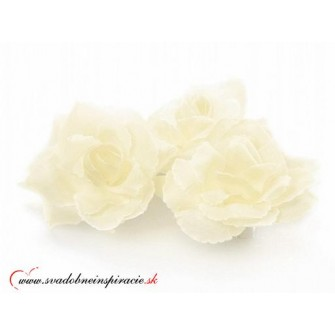 Prilepovacie ružičky - SMOTANOVÉ (24 ks)