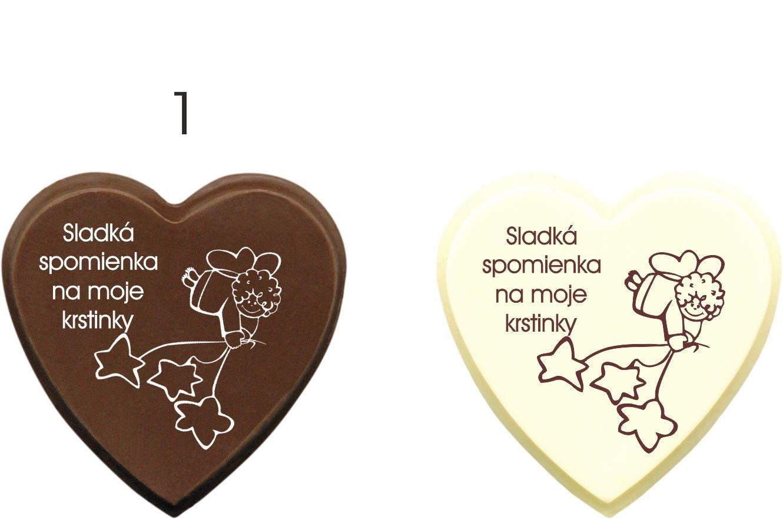 Čokoládky na krst - vzory