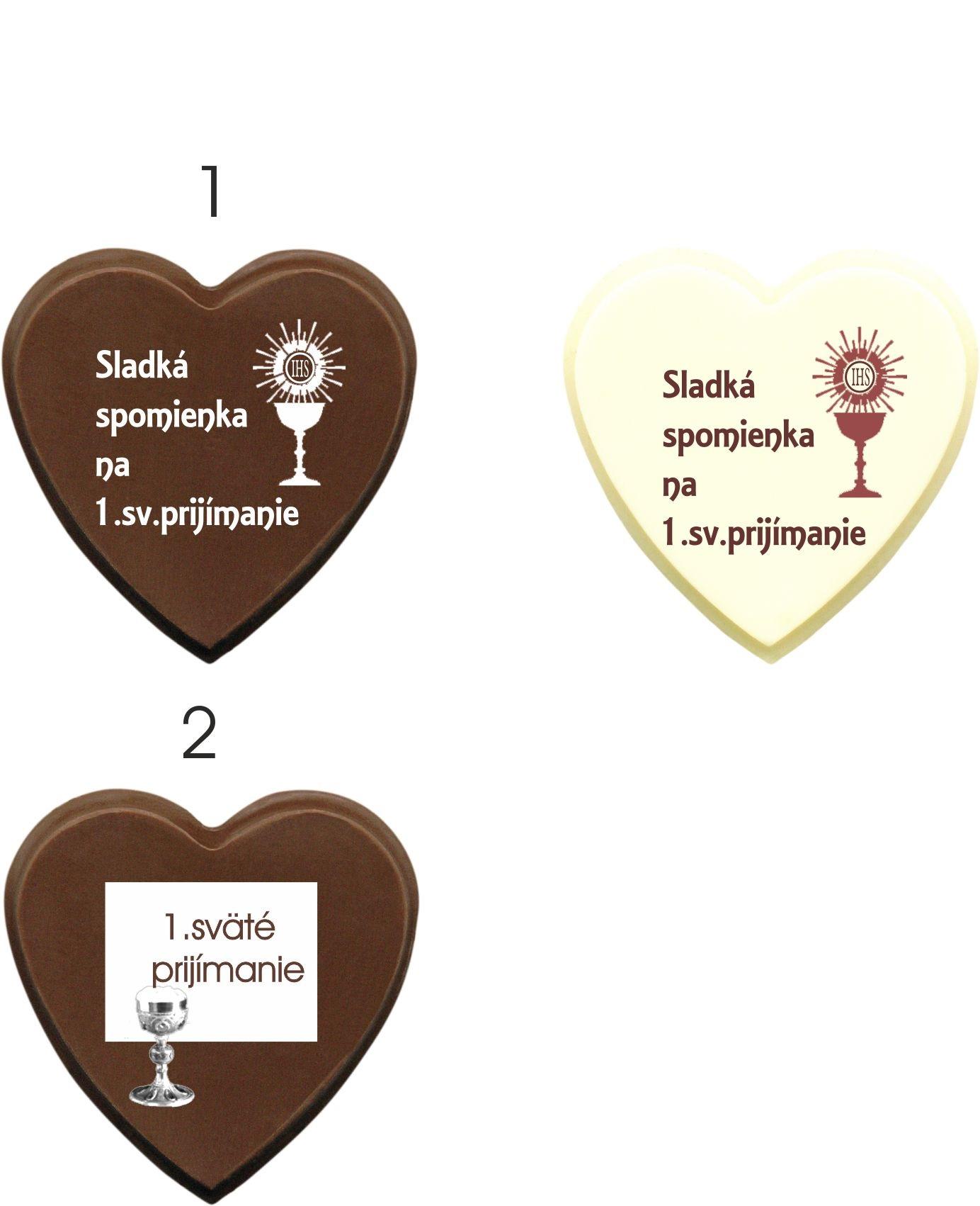 Čokoládky na prijímanie - vzory