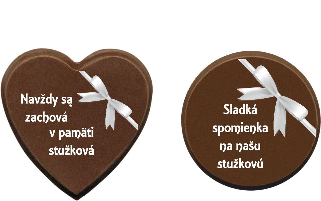 Čokoládky na stužkovú - vzory