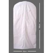Obal na šaty (90x180 cm) BIELY