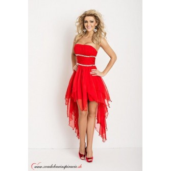 cd2581194403 Spoločenské šaty CARMEN  Červené
