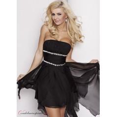 Spoločenské šaty CARMEN /Čierne/