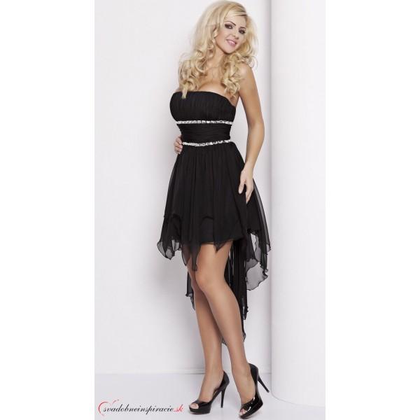 5e2d2e77d96c Spoločenské šaty CARMEN  Čierne