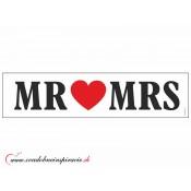 """Svadobná ŠPZ  """"MR&MRS"""""""
