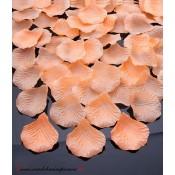 Lupene ruží - lososové