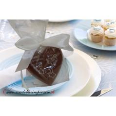 """Čokoládka na krst """"SRDIEČKO"""""""