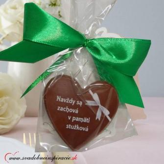 Čokoládka na stužkovú