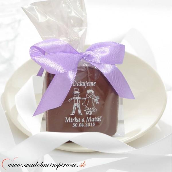 ... Svadobná čokoládka