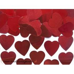 Confetti - Červené srdiečka (10 g)