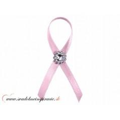 """Svadobné pierka """"Diamantík"""" - ružové"""