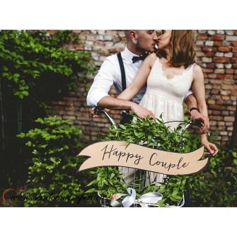 """Tabuľky """"HAPPY COUPLE & WEDDING"""" (2 ks)"""