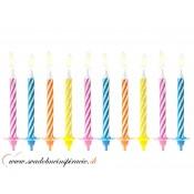 Tortové sviečky (10 ks)