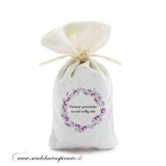 Levanduľové vrecúška pre svadobných hostí, VZOR 03 (10 ks)