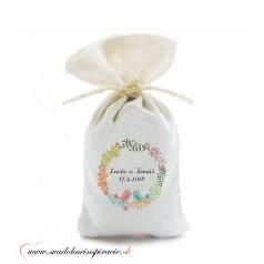 Levanduľové vrecúška pre svadobných hostí, VZOR 05 (10 ks)