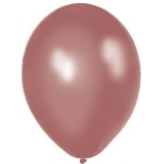 Balóny perleťové - HNEDÉ (20 ks)