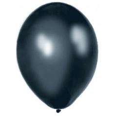 Balóny perleťové - ČIERNE (20 ks)