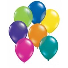 Balóny perleťové - MIX FARIEB (10 ks)