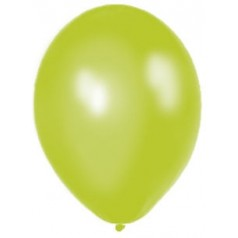 Balóny perleťové - JABLKOVOZELENÉ (20 ks)