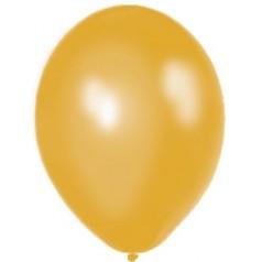 Balóny perleťové - ZLATÉ (10 ks)