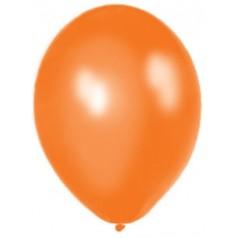 Balóny perleťové - ORANŽOVÉ (20 ks)