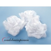 Prilepovacie ružičky - BIELE (24 ks)