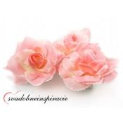 Prilepovacie ružičky - RUŽOVÉ (24 ks)