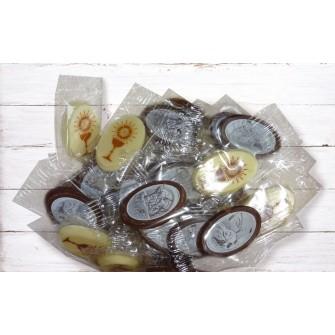 Mini čokoládky na krst (50 ks)
