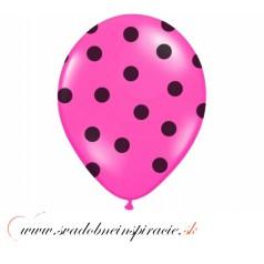"""Balóny """"MOTÝLIKY"""" - Ružové (10 ks)"""
