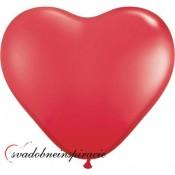 Balóny ČERVENÉ SRDCIA (10 ks)