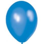 Balóny perleťové - MODRÉ (20 ks)
