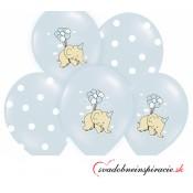 Balóny perleťové - ŽLTÉ (25 ks)