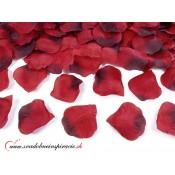 Lupene ruží - bordovo-červené