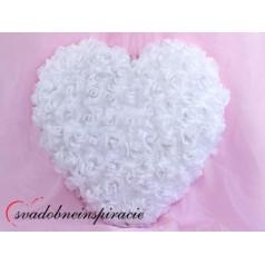 Srdce z orchideí - prázdne /50 cm/